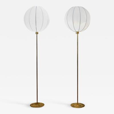 Bergboms Pair of Vintage Floor Lamps By Berg Bom