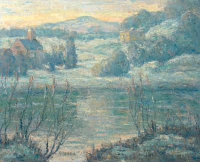 Ernest Lawson Early Spring in Connecticut