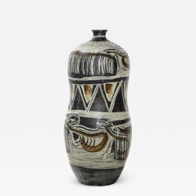 Anders Bruno Liljefors Rare Large Scale Vase by Anders Bruno Liljefors