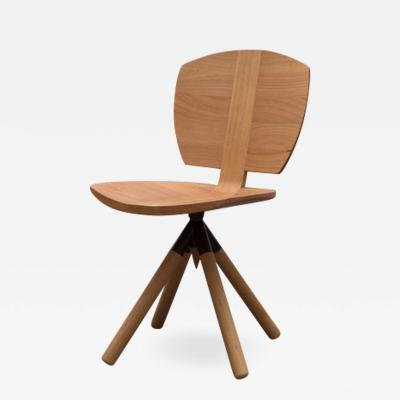 Carlos Motta Shell Swivel Chair