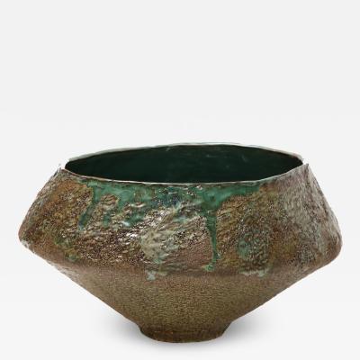 Dena Zemsky Studio Made Asymmetric Bowl by Dena Zemsky