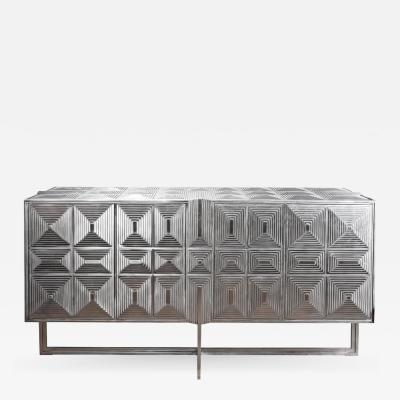 Erwan Boulloud Original Steel Buffet by Erwan Boulloud