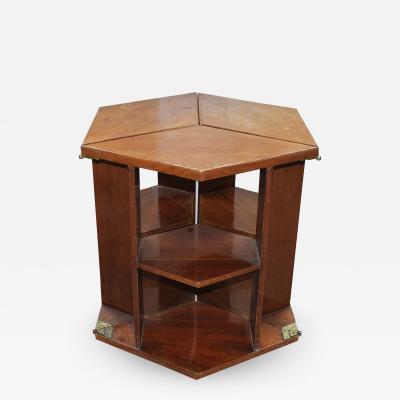 Eugene Printz Eugene Printz Walnut Folding Bookcase Table 1930