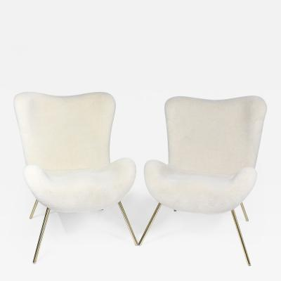Fritz Neth Pair of easy chairs