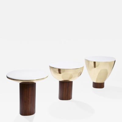 Herv Langlais SILENCE SIDE TABLES