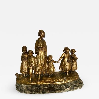 Joseph D Aste Bronze Scuplture by Joseph D Aste 1881 1945