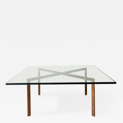 Ludwig Mies Van Der Rohe Early Ludwig Mies Van Der Rohe Barcelona table Knoll 1960