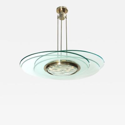 Max Ingrand Rare Hanging Light Designed by Max Ingrand for Fontana Arte