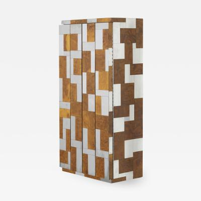 Paul Evans Paul Evans wall mounted Cityscape cabinet from the PE 400 series