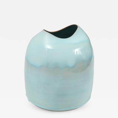 Tonya Gomez Studio Made Porcelain Vase by Tonya Gomez