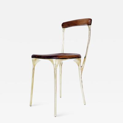 Valentin Loellmann Brass Chair