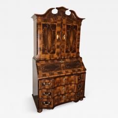 18th century Baroque Cabinet with Secretaire - 813610