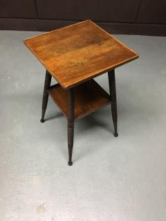 A Turned Arts Crafts Side Table   253628