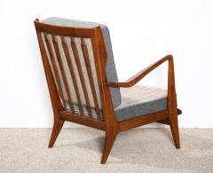 Gio Ponti Rare Pair of Open Arm Chairs by Gio Ponti for Cassina - 945209