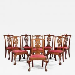 Set of Eight Chippendale Side Chairs - 806393