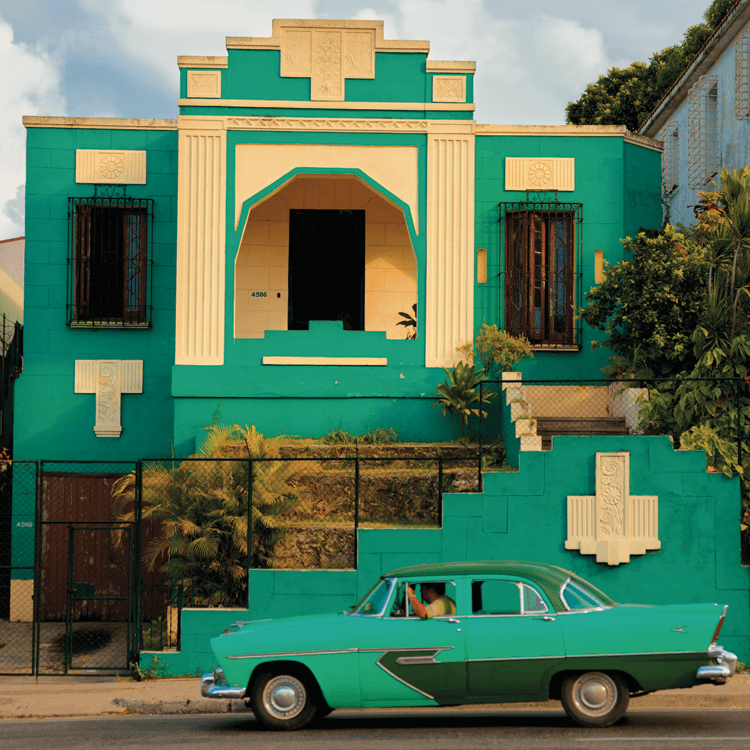 Havana modern by michael connors articles for Modern art deco homes
