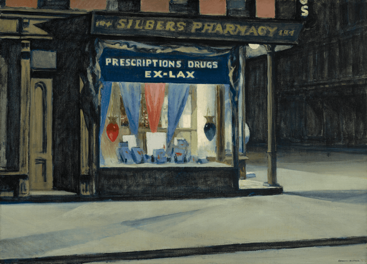 Edward Hopper Hours Of Darkness By Janet L Comey Incollect