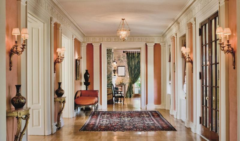 An Interior By Eberlein Design Consultants.