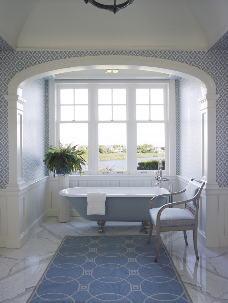 Designer anthony baratta creates a serene yet vibrant southampton home on incollect Bathroom design jobs southampton