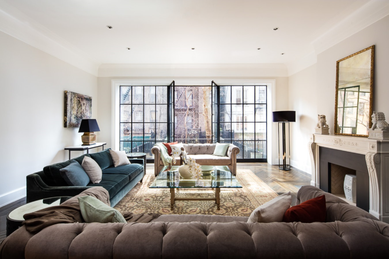 Houses for sale rupert murdoch 39 s manhattan townhouse and for Manhattan townhouse for sale