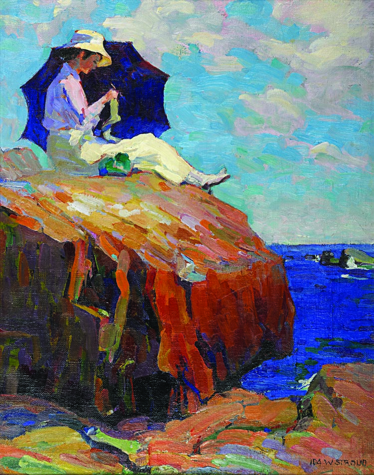 Jersey shore impressionists by roy pedersen articles for In their paintings the impressionists often focused on