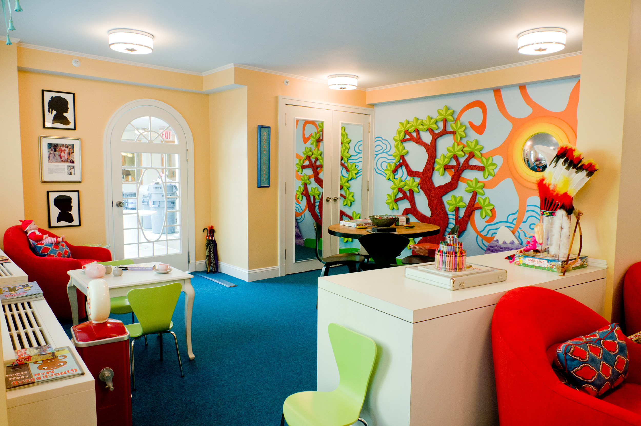 Philanthropy by design bunny williams playroom at the for Williams interior designs inc