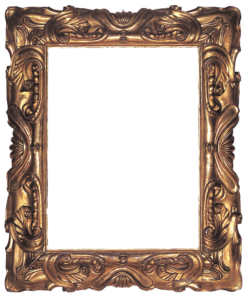 Charming Antique Picture Frames Part - 1: 1: Carved And Gilt Mannerist Frame Of Reverse Profile In The Auricular  Style With Stylized Shell Motifs At Centers Surrounded By Deeply Sculpted  Scrolls And ...