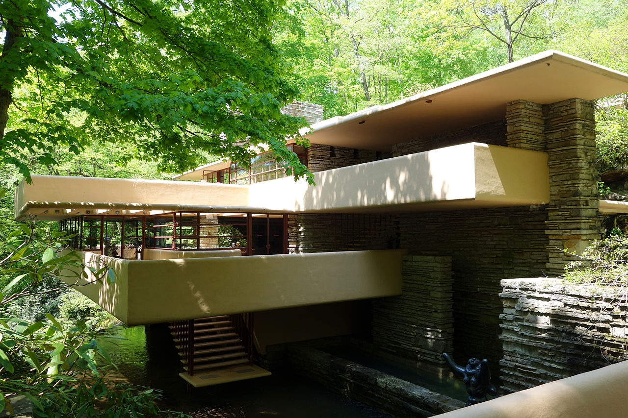 5 serene frank lloyd wright houses worth slipping awak for Frank lloyd wright list of houses