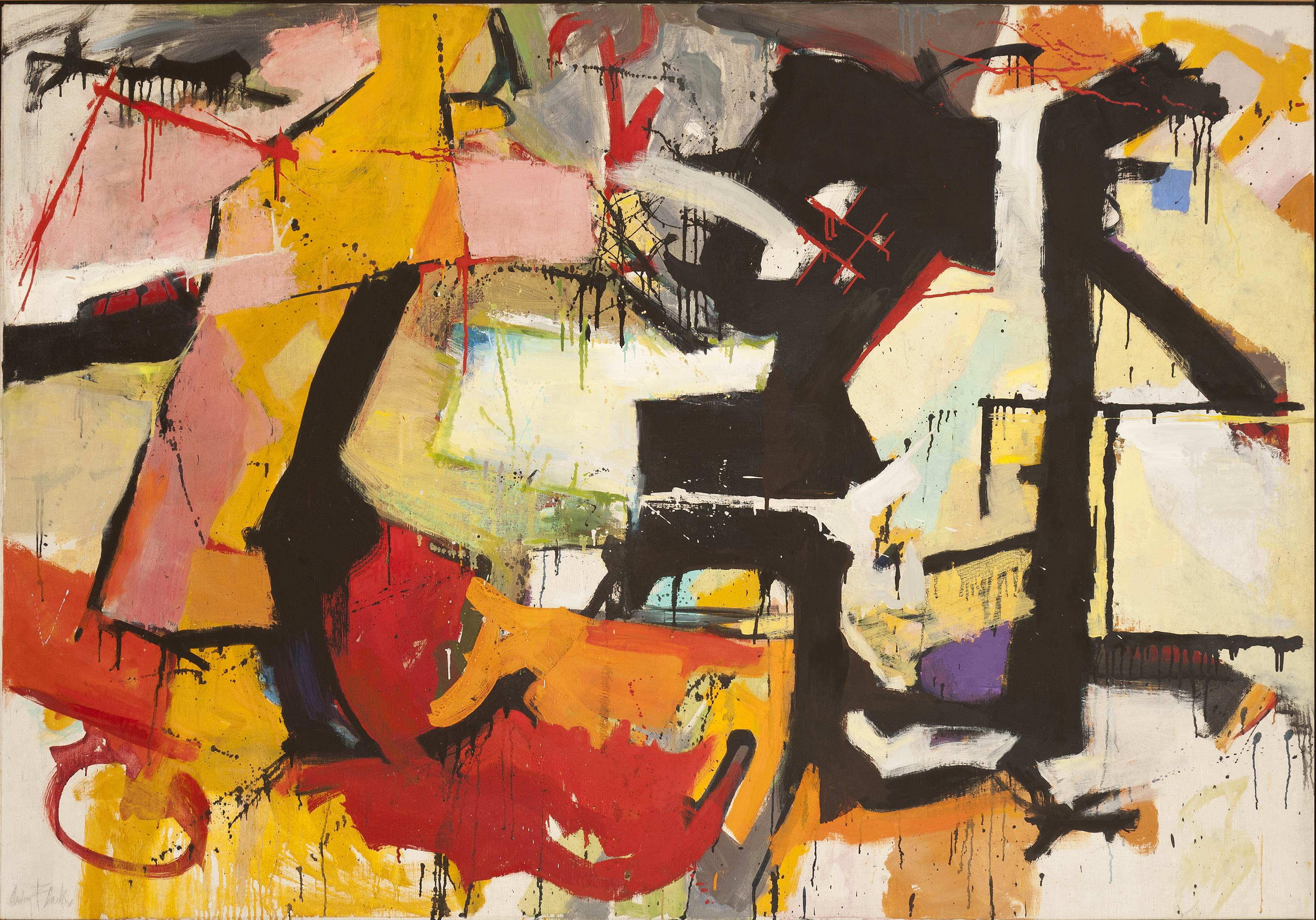 Hollis Taggart Galleries Presents Abstract Expressionist Paintings ...
