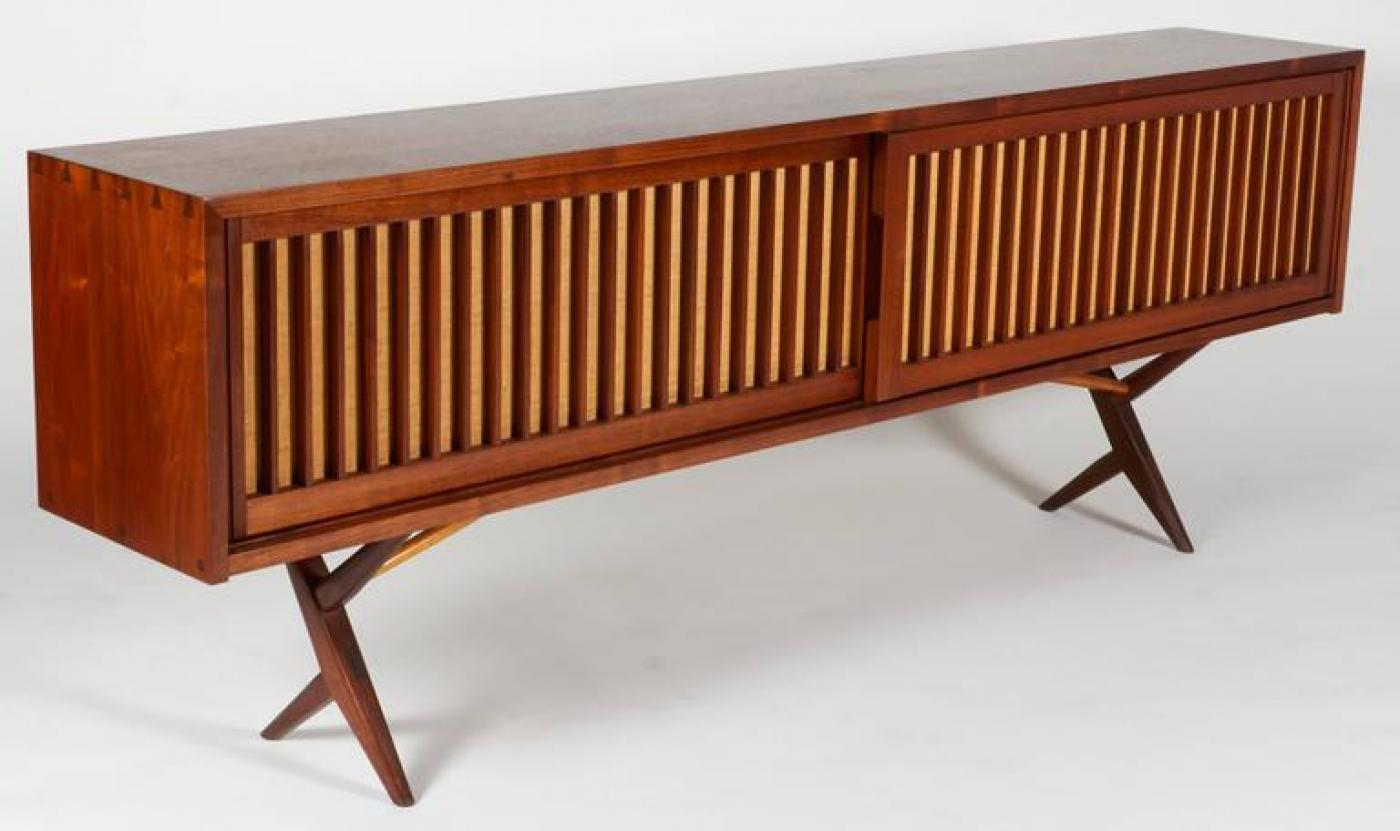 Cabinet by George Nakashima, c. 1970s. Offered by Lost City Arts.