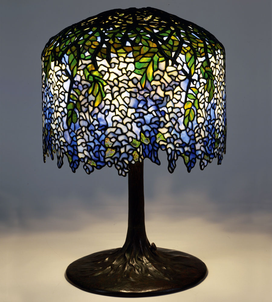 The women of tiffany studios by margaret k hofer articles 3 wisteria lamp designed by clara driscoll circa 1901 model 342 diam 18 in the new york historical society gift of dr egon neustadt mozeypictures Gallery