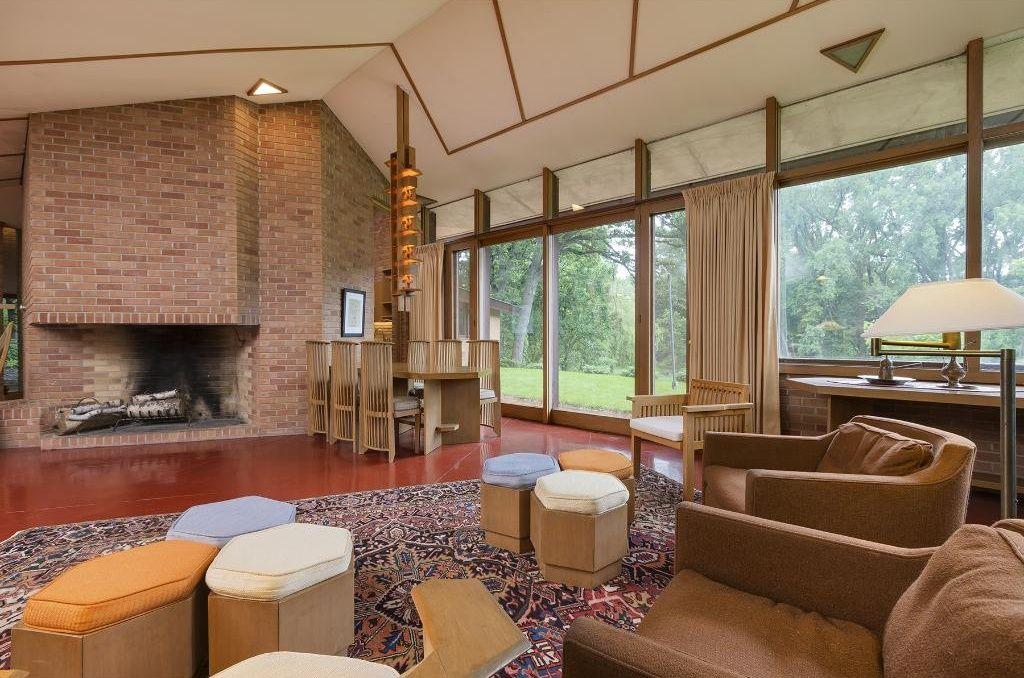 Photo Via Berg Larsen Group. The Legendary Architect Frank Lloyd Wright  Designed ...
