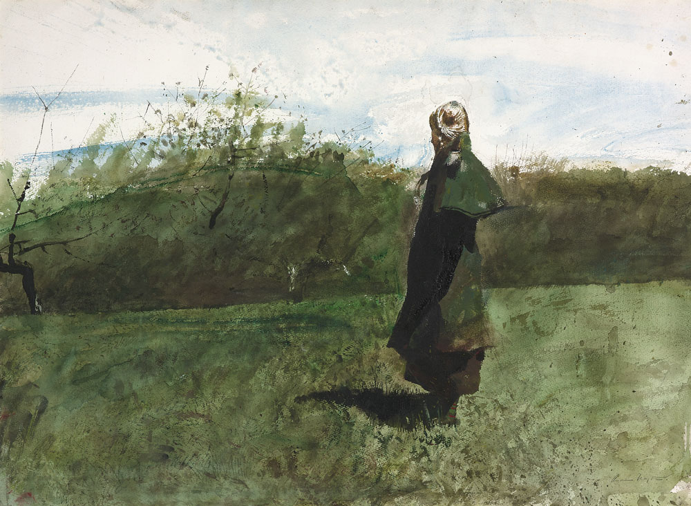 paper wyeth Name: andrew wyeth also known as andrew newell wyeth born: chadds ford   wyeth 1950 watercolor on paper mounted on paperboard.