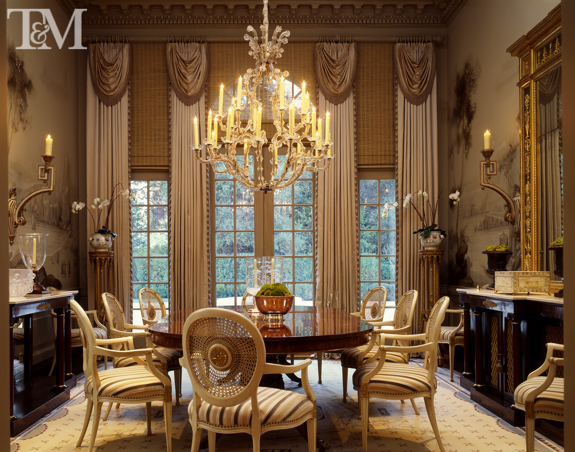 A Dining Room Designed By Suzanne Tucker.