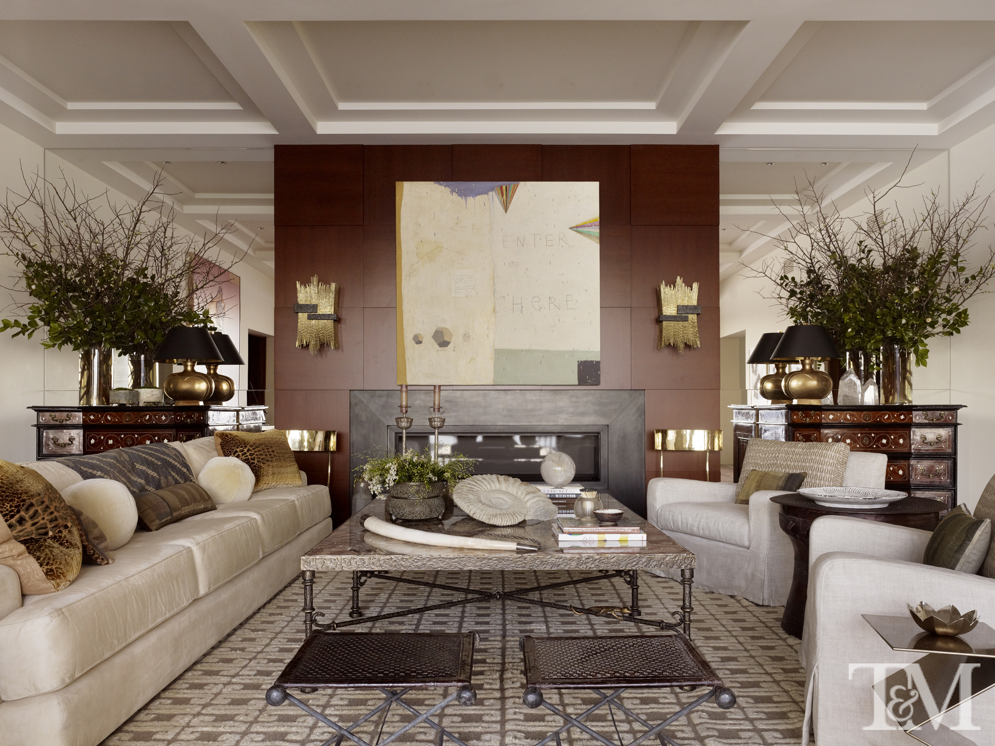 Nice A Living Room Designed By Suzanne Tucker.