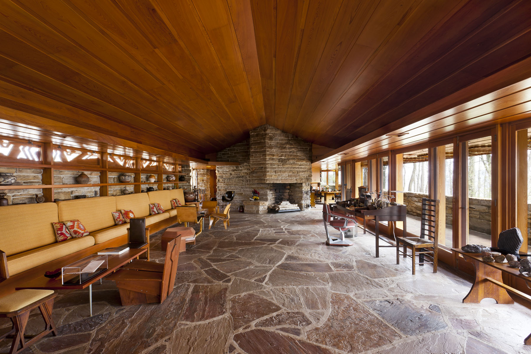 Frank Lloyd Wright Style House Plans Top 11 Frank Lloyd Wright Houses You Can Tour Incollect