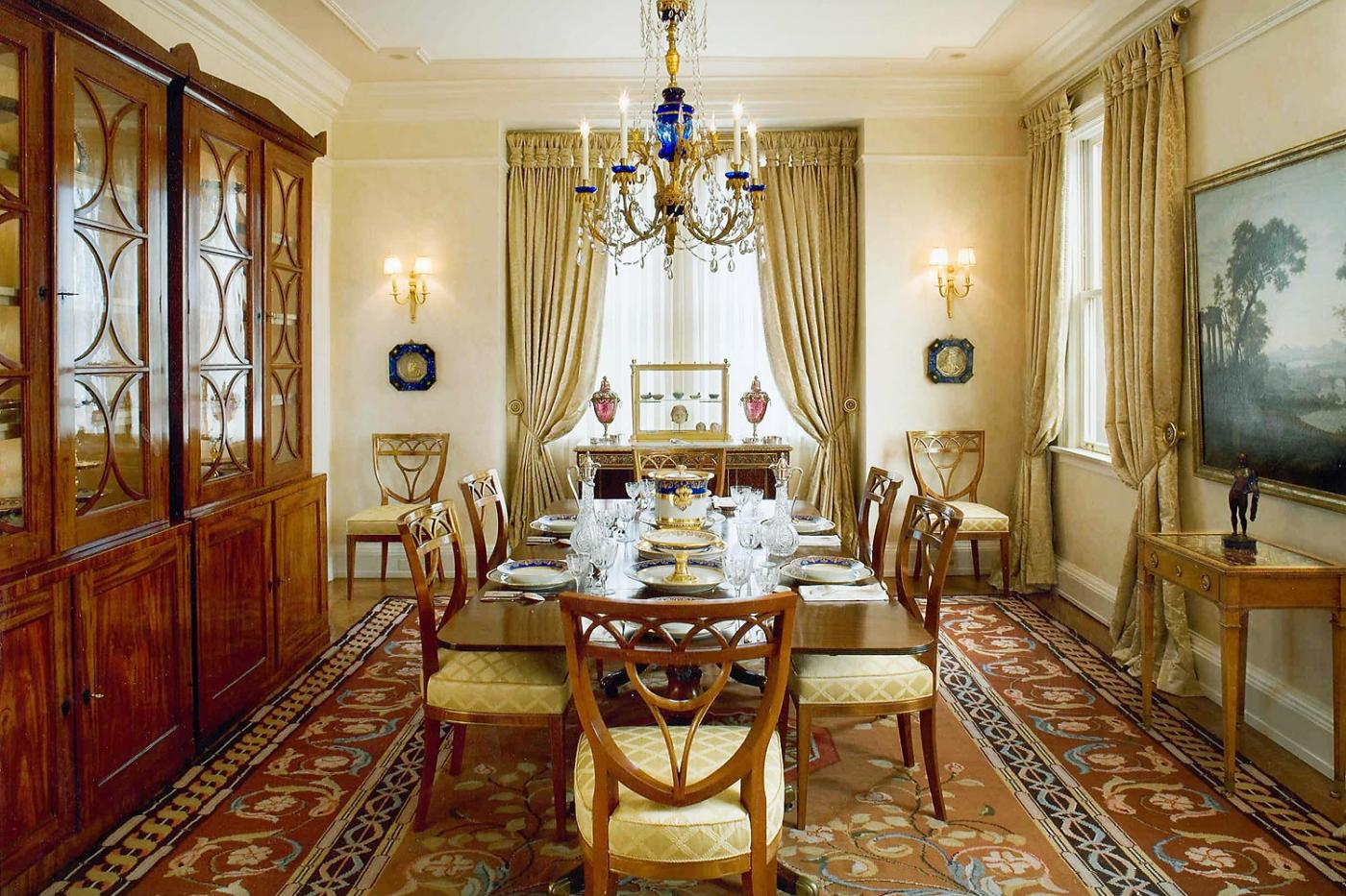 A serene penthouse perched high above the city is the setting for a  dazzling collection of Classical antiquities, 18th century antique  furniture, ...