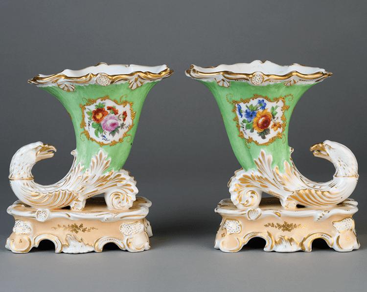 Elegant Eighteenth Century Flower Vases By Leslie B Grigsby Articles