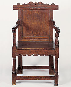Nice Edward Winslow Is Traditionally Also Believed To Have Been The First Owner  Of A Wainscot Chair Now In The Collection Of The Pilgrim Society In  Plymouth, ...