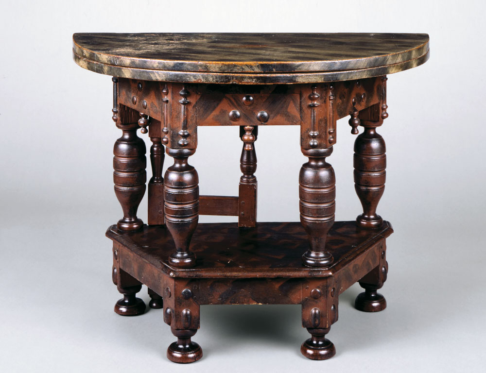 Early Colonial Furniture At The Metropolitan Museum Of Art