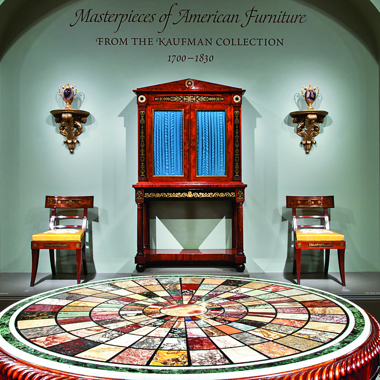 American Furniture In The Kaufman Collection At The