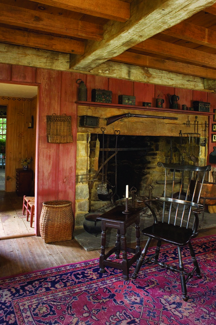 A Bit Of New England In Pennsylvania By Frances Mcqueeney