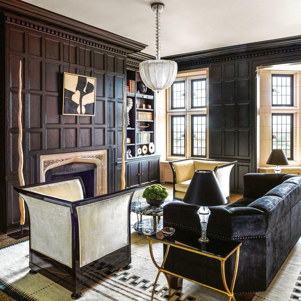 Award winning residence by interior designer suzanne for Award winning interior design websites
